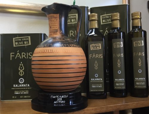 Silver Prize For Faris Extra Virgin Olive Oil